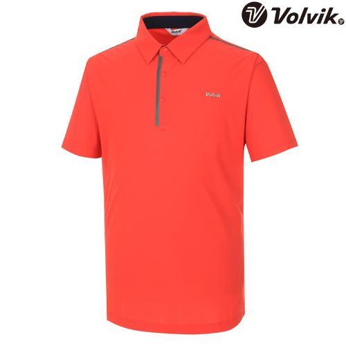 [볼빅브이닷] 남성 솔리드 웰딩포인트 반팔 티셔츠 VMTSH330_CO