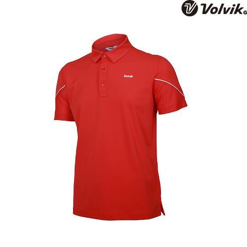 [볼빅브이닷] 남성 골프 매쉬 패치 반팔 티셔츠 VMTSH331_CO