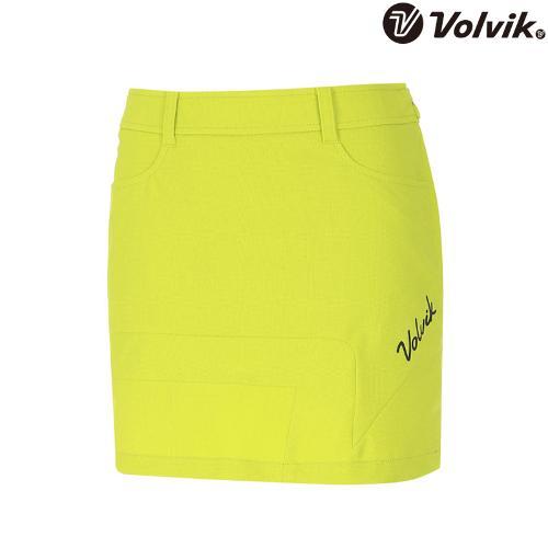 [볼빅브이닷] 여성 골프 브이절개 포인트 컬러 큐롯 VLCUH471_LE