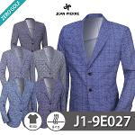 [JEAN PIERRE] 쟌피엘 남성 체크무늬 마이 자켓 Model No_J1-9E027