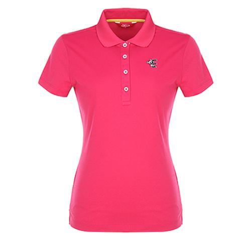 [팬텀]여성 캐주얼 패턴카라 반팔 티셔츠 22272TO951_PK