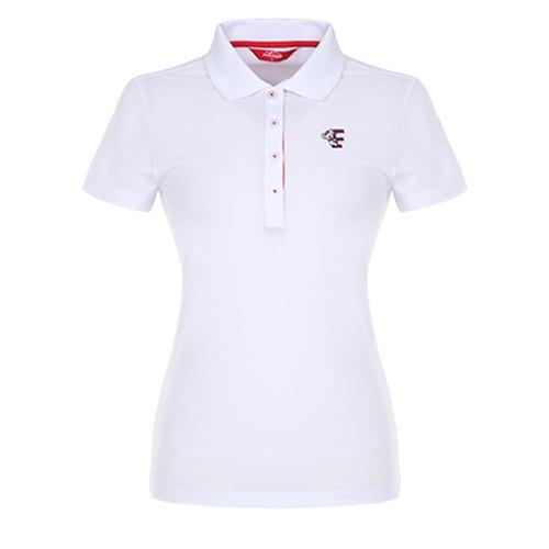[팬텀]여성 캐주얼 패턴카라 반팔 티셔츠 22272TO951_WH