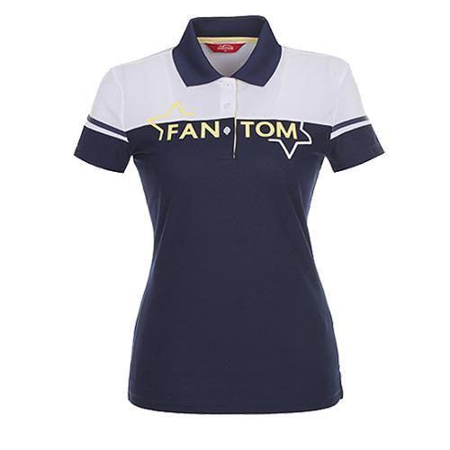 [팬텀]여성 컬러블럭 로고 프린트 카라 티셔츠 22172TO052_NA