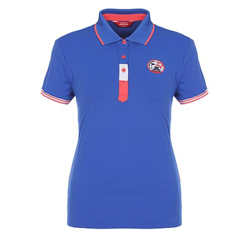 [팬텀]여성 스포티 컬러블록 레터링 티셔츠 22172TO053_BL