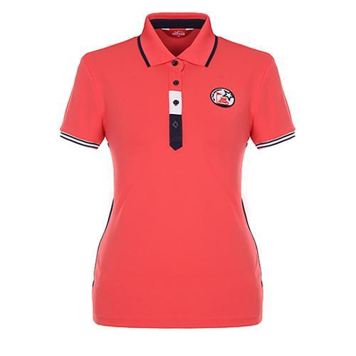 [팬텀]여성 스포티 컬러블록 레터링 티셔츠 22172TO053_CO