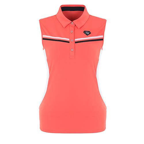 [팬텀]여성 슬리브리스 슬림핏 티셔츠 22172TL171_CO