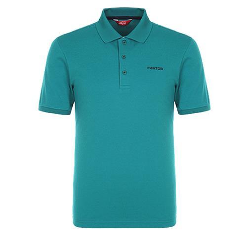 [팬텀]남성 베이직 패턴카라 반팔 티셔츠 21272TO901_GN