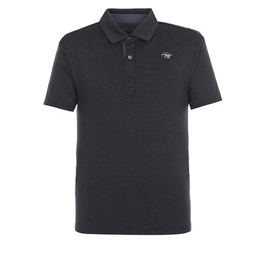 [팬텀]남성 스트레치 조직 카라 티셔츠 21172TO020_BK
