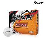 2019 스릭슨 트라이스타2 골프공 12알 화이트볼 골프용품 필드용품 SRIXON TRI STAR GOLF BALL
