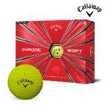 2018 캘러웨이 크롬 소프트 골프공 옐로우 12알 골프용품 필드용품 골프볼 Callaway CHROME SOFT BALL