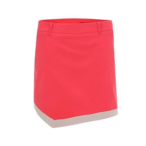[팬텀]여성 밑단 컬러 배색 사선 큐롯팬츠 22151PC455_CO