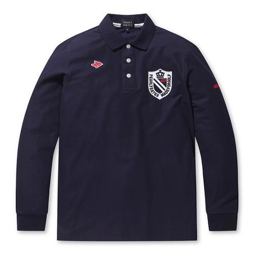 [파리게이츠]남성 로고 포인트 카라 티셔츠 51291TS901_NA