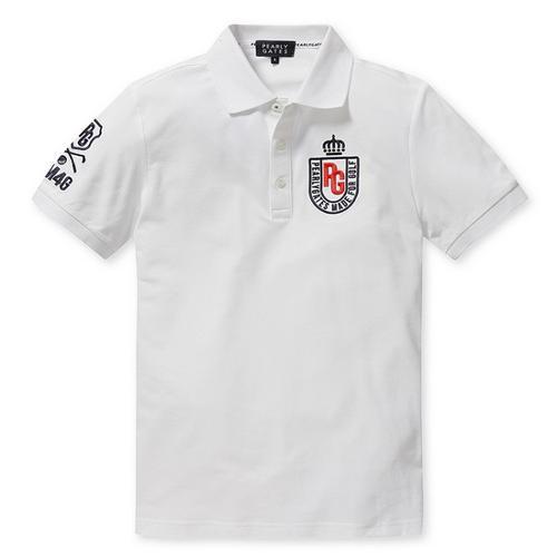 [파리게이츠]남성 로고 자수 반팔 폴로 티셔츠 51272TS901_WH