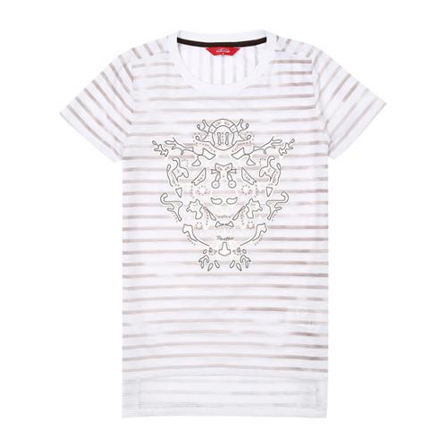 [팬텀]여성 스트라이프 반팔 티셔츠 22172TR154_BR