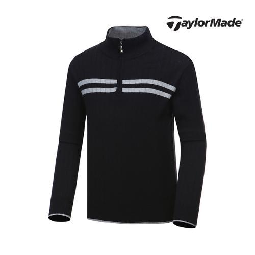 [테일러메이드] 남성 라인 하프집업 스웨터 AF9340_GA