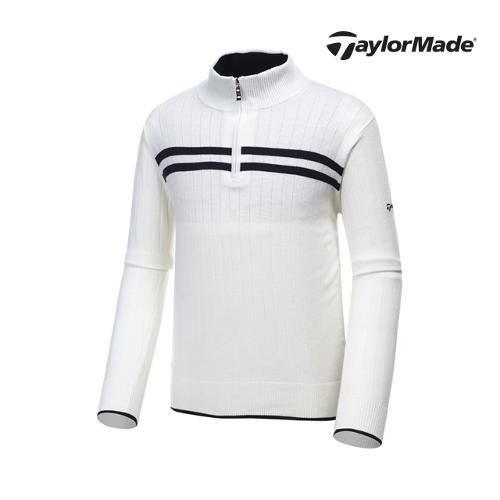 [테일러메이드] 남성 라인 하프집업 스웨터 AF9339_GA
