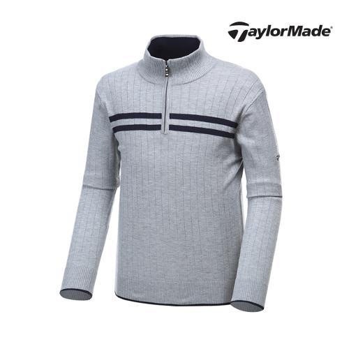 [테일러메이드] 남성 라인 하프집업 스웨터 AF9338_GA
