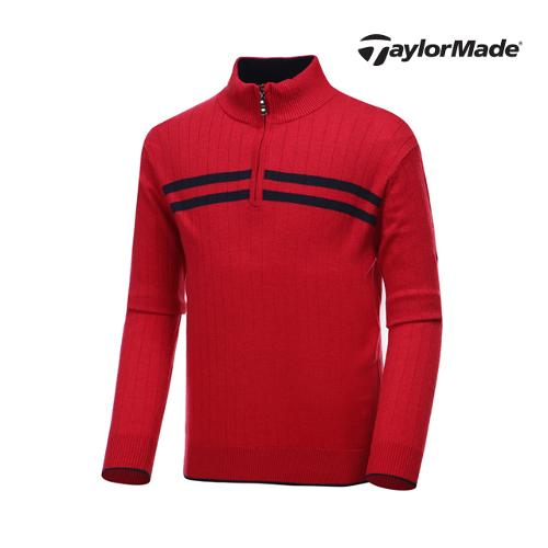 [테일러메이드] 남성 라인 하프집업 스웨터 AF9337_GA