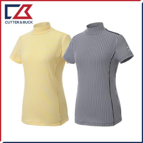 커터앤벅 여성 스판 반팔티셔츠 - PB-11-192-201-01