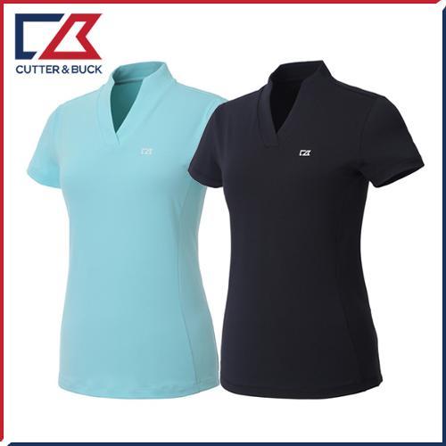 커터앤벅 여성 스판 반팔티셔츠 - PB-11-192-201-42
