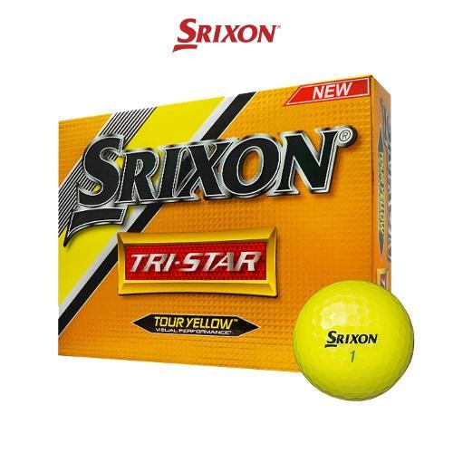 던롭코리아 정품 스릭슨 트라이스타 3피스 골프공