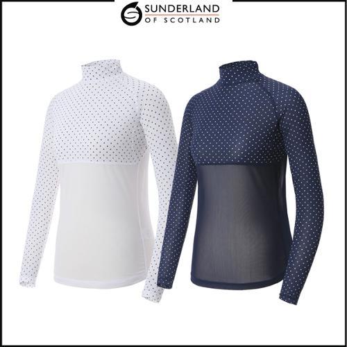 선덜랜드 여성 스판 기능성 냉감티셔츠 - 16922IW61