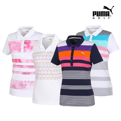 [푸마골프] 여성 PK 티셔츠 6종 택1_GA