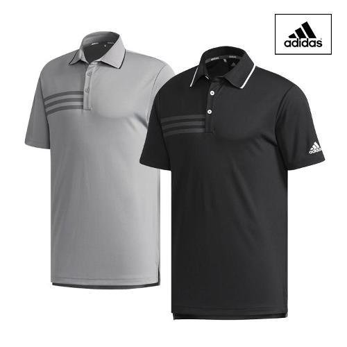 아디다스 SS 3스트라이프 남성 반팔 티셔츠 _CF9333 CW2147_ 골프웨어 골프의류