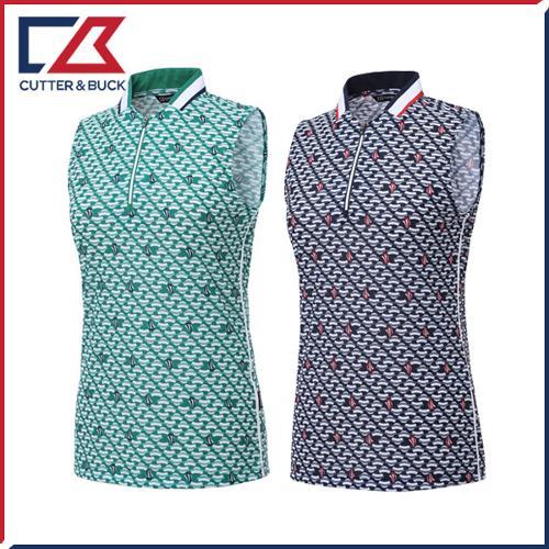 커터앤벅 여성 패턴 민소매티셔츠 - PB-11-192-231-01