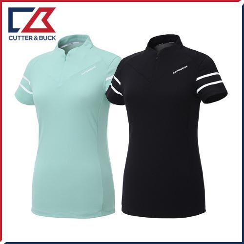 커터앤벅 여성 라인 반팔티셔츠 - PB-11-192-201-38
