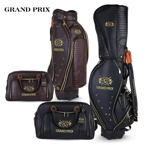 [그랑프리] GRANDPRIX 악어가죽스타일 프리미엄 골프백세트