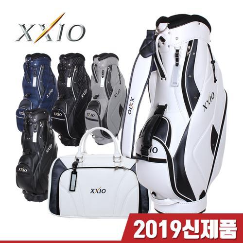 [2019년신제품]젝시오 GGC-X105 어쎈틱 2.9kg초경량 9.5인치 캐디백 보스톤백세트-5종칼라