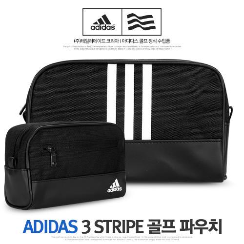 아디다스 3 STRIPE 골프 파우치 BD6516