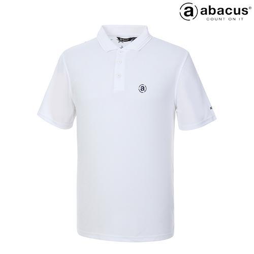 ★[아바쿠스] 남성 별페턴 카라 반팔 티셔츠 AH21TSM0848_100