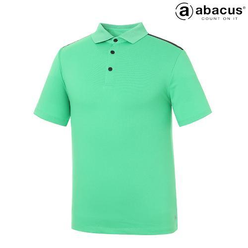 ★[아바쿠스] 남성 뒷 띠배색 카라 반팔 티셔츠 AI21TSM6655_500