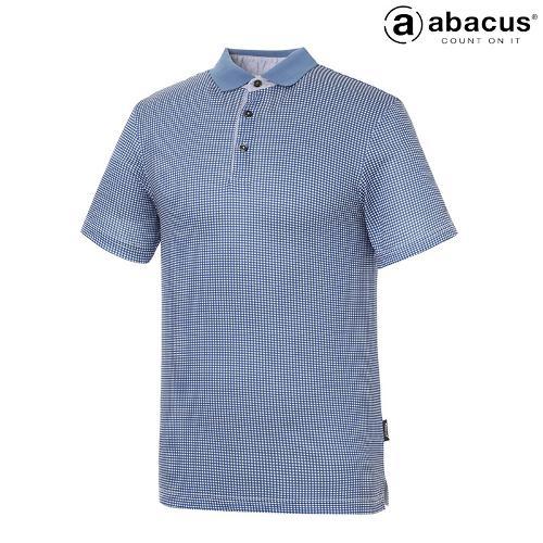 ★[아바쿠스] 남성 사각 체크 카라 반팔 티셔츠 AI21TSM6629_311