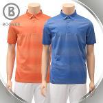 보그너 남성 줄무늬 반팔티셔츠 - BN-01-192-101-39