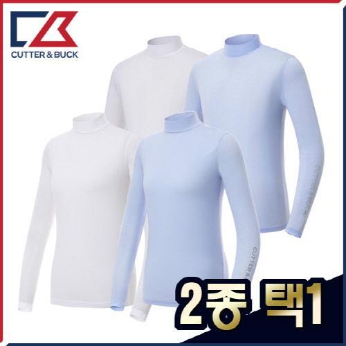 커터앤벅 남성/여성 국내생산 최고급 경량 스판 냉감티셔츠 2종 택1