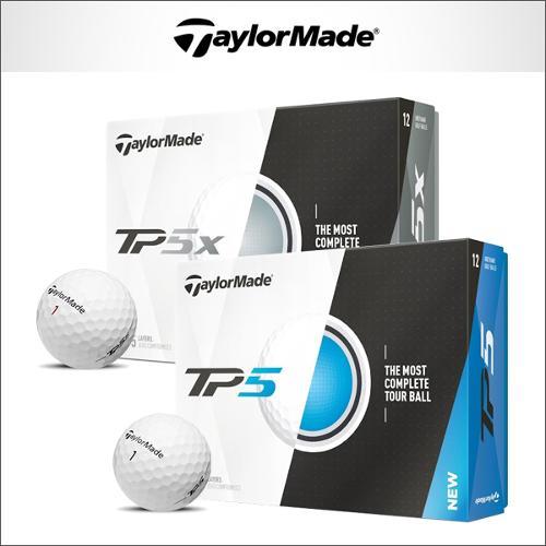 테일러메이드 TP5 TP5x 골프볼 5피스/12알