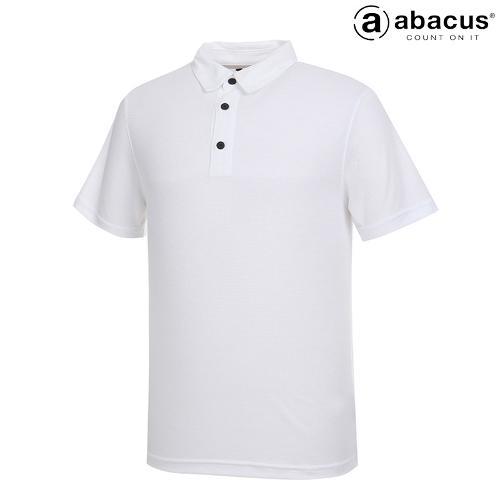★[아바쿠스] 남성 사각 자가드 카라 반팔 티셔츠 6587SS14_100