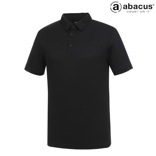 ★[아바쿠스] 남성 사각 자가드 카라 반팔 티셔츠 6587SS14_600