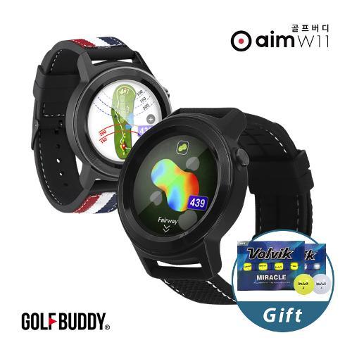 골프버디 2019 신형 aim W10 워치형 골프거리측정기