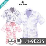 [JEAN PIERRE] 쟌피엘 열대 패턴 남방 반팔셔츠 Model No_J1-9E235