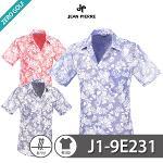 [JEAN PIERRE] 쟌피엘 트로피칼 패턴 남방 반팔셔츠 Model No_J1-9E231