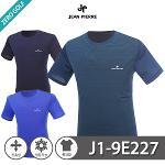 [JEAN PIERRE] 쟌피엘 베이직 냉감 라운드 반팔티셔츠 Model No_J1-9E227