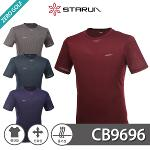 [STARUN] 스타런 벌짚 라운드넥 신축성 반팔티셔츠 Model No_CB9696