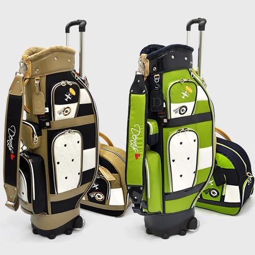 데니스골프 정품/ QAIXLCB 695 골프 백세트/ 바퀴형
