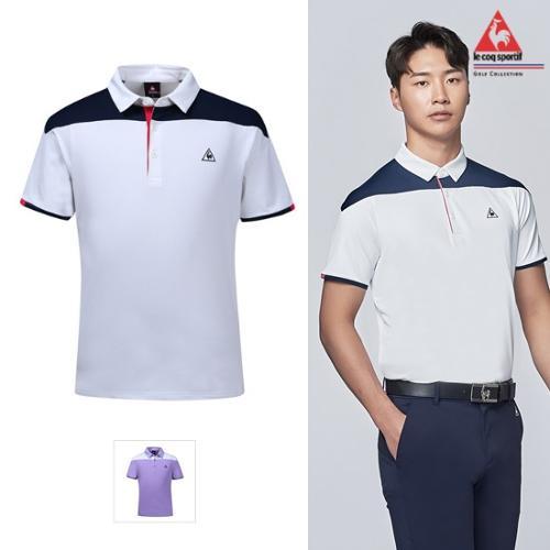 [19SS]남성 어깨 배색 반팔티셔츠 (G9221MTS42)