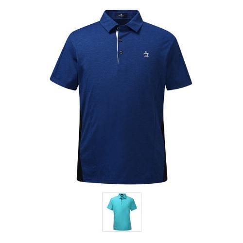 [19SS 신상]남성 냉감 투톤 절개 메쉬 믹스 배색 티셔츠 (M9221MTS4B)