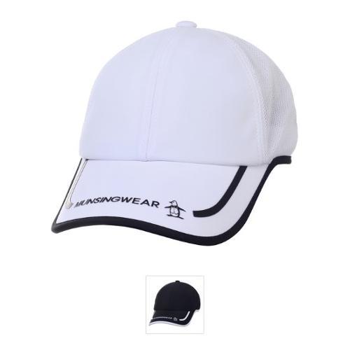 [먼싱웨어] 남성 배색 냉감 메쉬 캡 모자 (M9121MCP31)
